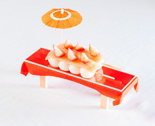 フルーツ餡団子  1本200円